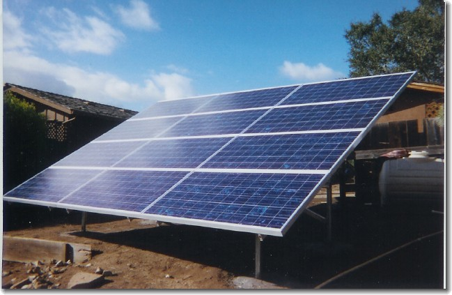 Picture of Ground Mounted Solar Array