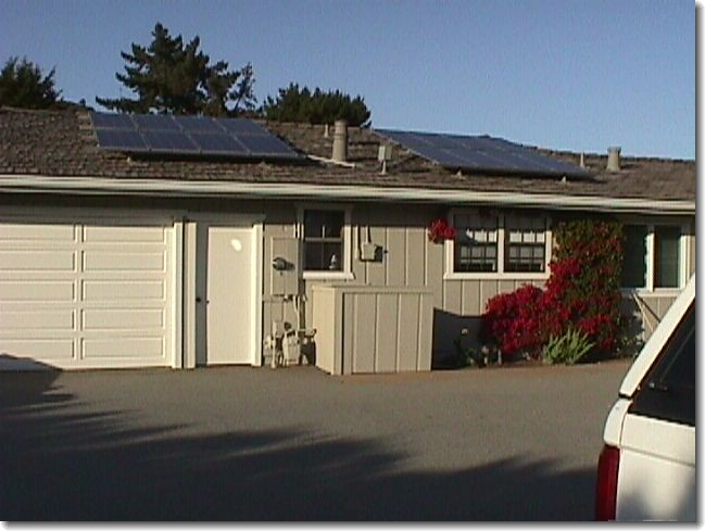 Picture of Solar Array installed on roof